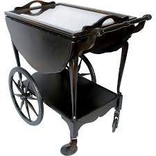 gorgeous serving carts with wheels metal wooden serving cart with