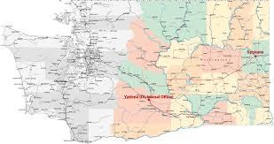Map Of Spokane Washington Eastern District Of Washington United States Bankruptcy Court