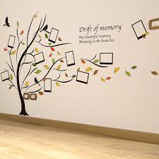 photo frame family tree wall stickers home decor wall decals