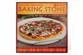 pizzacraft stovetop pizza oven ceramic pizza stone with wire frame pizzacraft