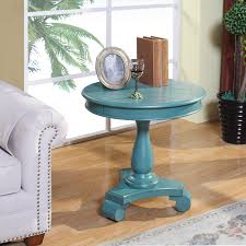openbox roundhill furniture rene round wood pedestal side table