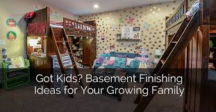 Ideas For Basement Finishing Got Kids Basement Remodeling Ideas For Your Growing Family Home