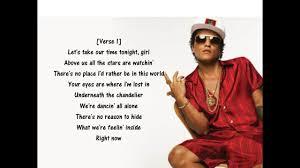 Chandelier Lyrics Meaning Bruno Mars Versace On The Floor Lyrics Video Youtube