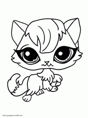 pet shop colouring pages funycoloring