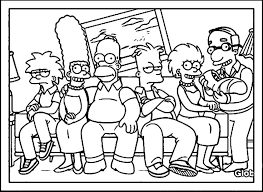 simpson coloring pages 139 best simpsons images on pinterest the simpsons drawings and