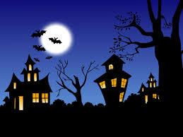 halloween background for word cartoon halloween background clipartsgram com