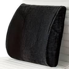 lumbar support cushions at brookstone u2014buy now