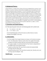 lab report conclusion template physics gr 9 igcse sle lab report