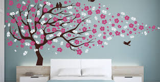 Bedroom Decals For Adults Mural Beautiful Wall Murals Bedroom Tree Wall Mural Ideas In