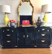 chinoiserie hollywood regency style buffet or dresser lacquered in