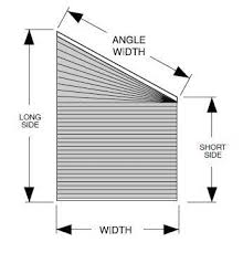Blinds For Angled Windows - how to cover a trapezoid window the finishing touch