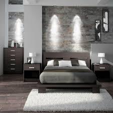 modern grey bedroom home intercine
