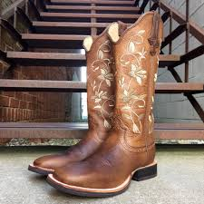 womens size 11 square toe cowboy boots twisted x s floral ruff stock square toe boot