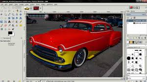 how to change car paint color in gimp 2 8 youtube