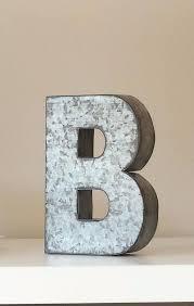 Home Decor Letters Of Alphabet Home Decor Letters Of Alphabet 6 Large Metal Letter Zinc Steel