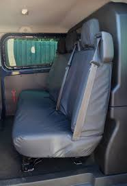 ford transit custom 2013 tailored u0026 waterproof rear seat cover
