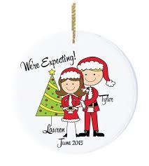 expectant parents ornaments chrismas 2017
