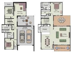 floor plans for bedrooms duplex small house design floor plans with 3 and 4 bedrooms
