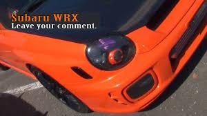 orange subaru wrx subaru wrx orange youtube