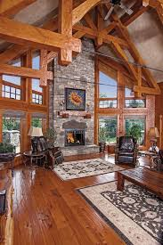 Log Cabin Living Room Designs 2064 Best Log And Timber Homes Images On Pinterest Log Cabins