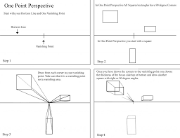 how to draw in one point and two point perspective idaho art classes