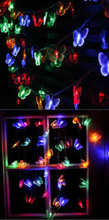 10m 50 led butterfly string lights for outdoor u0026 indoor christmas