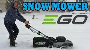 new 2016 ego cordless 56v lawn mower 21