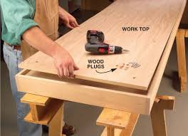 Popular Woodworking Roubo Bench Plans by Aw Extra Torsion Box Workbench And Expandable Assembly Table