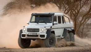 six wheel mercedes suv the mercedes g63 6x6 will dominate every other suv at the mall