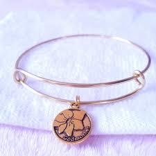 godmother bracelet godmother charm bangle bracelet pinkbutterflybella