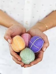 felt easter eggs diy embroidered felt easter eggs camille styles