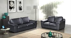 Leather And Fabric Sofas For Sale Amy 3 2 Pu Leather Sofa Set Black Brown Cream Uk Sofas
