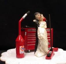 mechanic cake topper auto mechanic wedding cake topper mac tools by customimageboutique