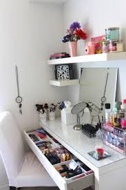 Small Desk Organization by Furniture Makeup Desk Ikea Small Bedroom Vanity Lighted