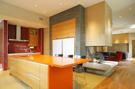 wandfarbe ideen streifen küche wandfarbe 40 ideen für farbgestaltung der küche freshouse