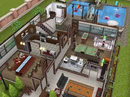 Download Home Design Dream House Mod Apk Emejing Player Designed House Sims Freeplay Contemporary Home