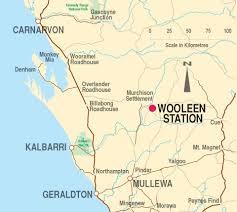 Australian Outback Map Getting Here U2013 Wooleen Station