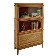 Wood Bookcase With Doors Heritage Collection Units Hale Barrister Bookcases