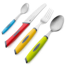 Cutlery Sets Scanpan Spectrum Multicoloured Cutlery Set 16pce Peter U0027s Of