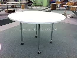 Vitra Steel Round Table With Wheels China Trading Company