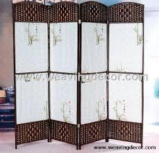 Wicker Room Divider Decorative Screens Room Screen Room Dividers
