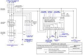 chambre froide negative coffret electrique schema electrique