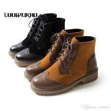 womens boots low heel lace up womens boots low heel casual army boots daily
