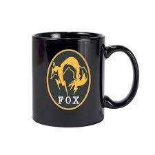 gear solid v ground zeroes mug fox