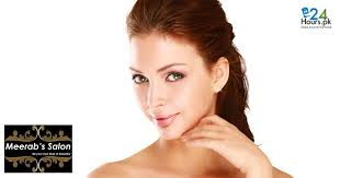 haircut deals lahore beauty salon offers herbal facial hair protein treatment haircut