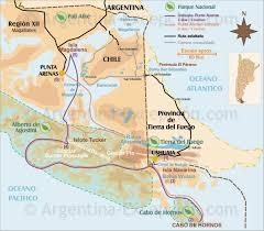 Patagonia Map Map Of Patagonia Cruise Ushuaia And Puntas Arenas