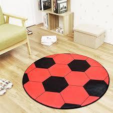sport en chambre x football basket volley ronde tapis tapis enfants garçons