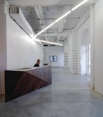 Interior Spaces by Reception Desk Warehouse Loft Type Space Interior Spaces