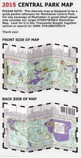 Map Of Midtown Manhattan Streetwise Central Park Map Laminated Pocket Map Of Manhattan