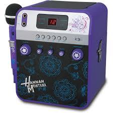 hannah montana karaoke machine review